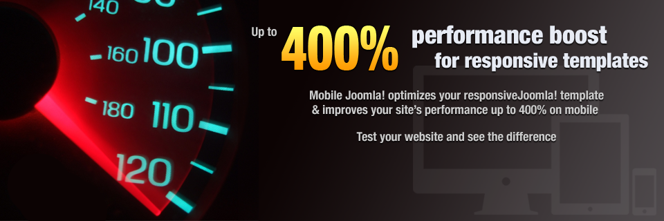 Mobile Joomla! Responsive Template Optimizer
