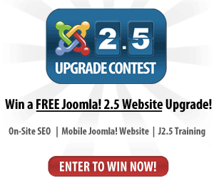 Joomla 2.5 upgrade contest