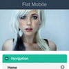 Flat Mobile Joomla! Template